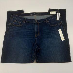 Old Navy Jeans Size 20 Curvy Profile Skinny